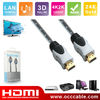 1.4v hdmi cable 1080p+3D+ethernet for HDTV