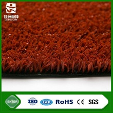 Red color basketball or tennis flooring synthetic turf