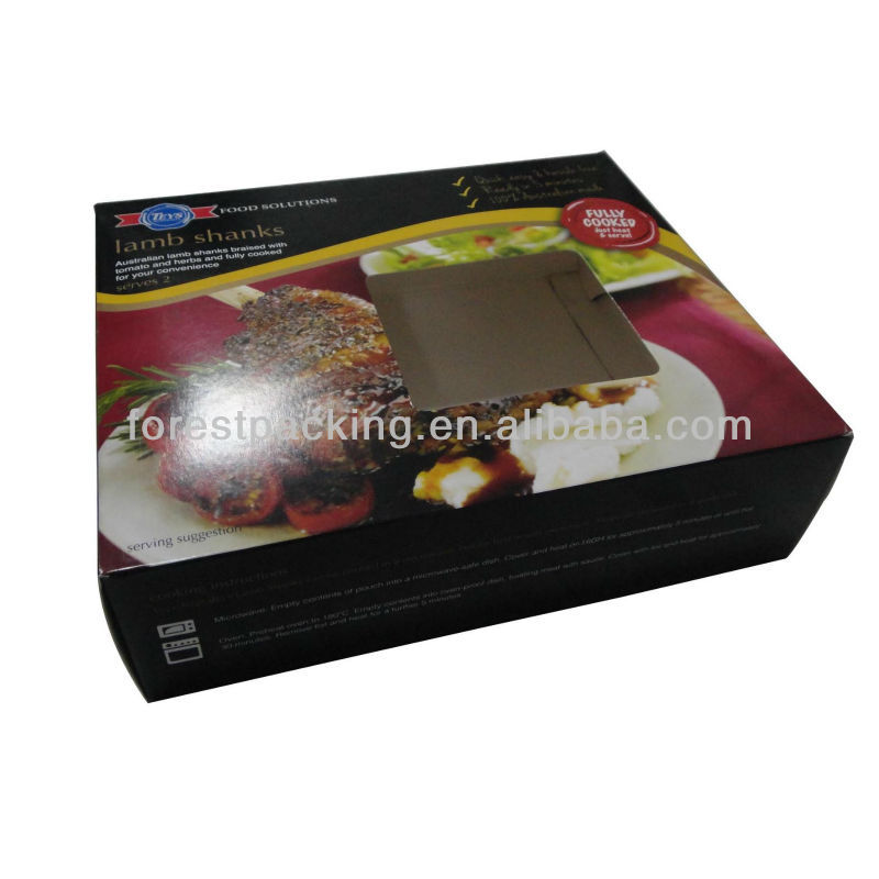 COOKED BEEF PACKAGING BOX