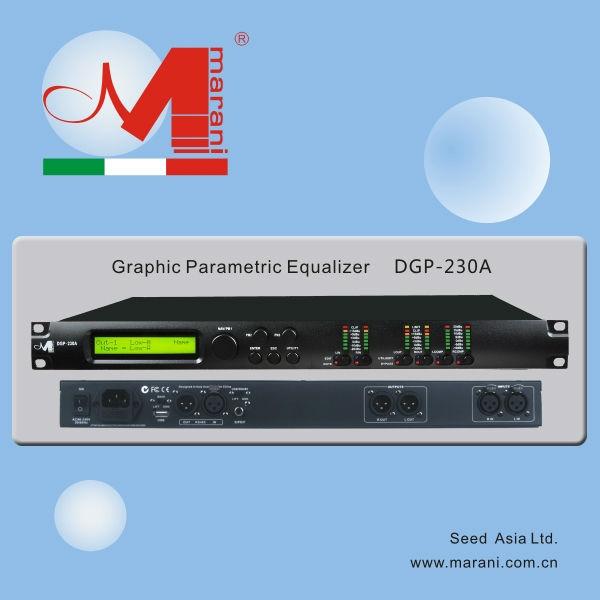 DGP-230A Professional Graphic Parametric Equalizer
