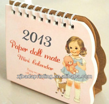 2013 Mini Paper Table Calendar