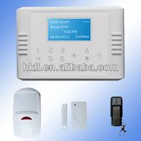 Best Home Security Alarm System(GSM+PSTN Dual Network)