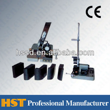 GWS-8 Manual Wire Rod Repeated Bending Testing Machine / Metal Wire Bending Tester