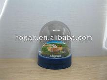 souvenir Athens water globe