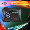 Automobiles Car DVD Radio for Kia Sportage with 3 G internet