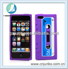Silicone Retro Cassette Tape Case for Apple iPhone 5 5G Cover Gel Skin