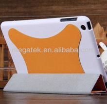 Super slim auto sleep wake smart cover case for ipad mini, for ipad mini cover