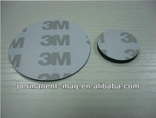 Custom made size Rubber magnet With 3M adhesive