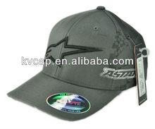 New Jury Flex Fit Hat Cap Racing Motocross Grey