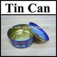 Car Wax Tin Cans Packing Factory 100ml shoe polish