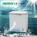 Pequeña explosión del congelador con el ce, cb, soncap con luz led/interior de vidrio/ruedas/cesta/mango/bloqueo ( bd/c - 155 )