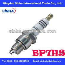 nickle plated BP7HS motorcycle engine parts spark plug