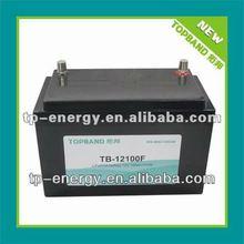 Energy storage LiFePO4 12V 100Ah battery TB-12100F with BMS