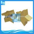 forma de estrela decorativa papel caixa de presente