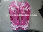 Confortable girls fashion nude beach slippers