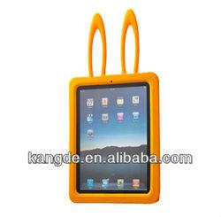 cute silicone rabbit case for ipad mini case