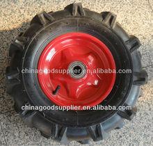 small pneumatic wheels 4.00-8