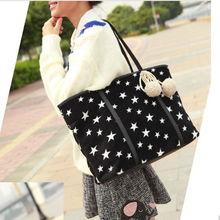 New arrival fashion star brand women shoulder handbags 2013