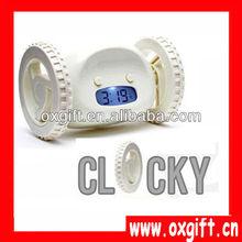 OXGIFT Running Wheels Alarm Clock