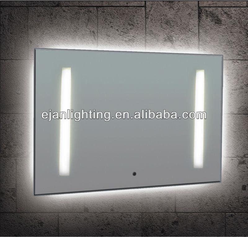 Ip44 miroirs retro clair s pour salle de bain mirroir de for Miroir infini led