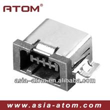 4P mini usb connector