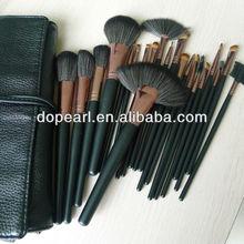 Professional 100% Goat hair 21 pcs makeup tool kits make up sets