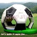 نفخ كرة القدم نموذج