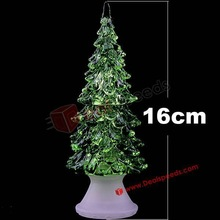Led Xmas Trees/16 CM Tall Led Christmas Trees