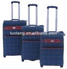 2014 fashion PU luggage bag trolley bag upright luggage suitcase case