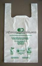 biodegradable cheap plastic t-shirt bags