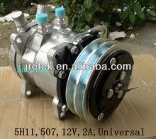 Universal 507 5H11 12V 2A Sanden Compressor for Auto Air Conditioner