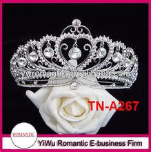 cheap custom tall pageant crown tiara