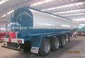 betume asfalto líquido tanque de transporte de caminhão