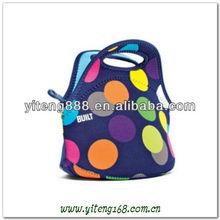 2012 latest high fashion SBR lunch bag
