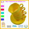 Food Grade Kitchen Silicone Cake Cups New Design With FDA&LFGB Approval