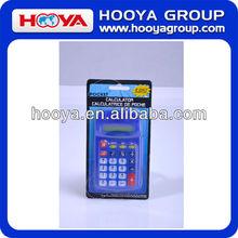 Promotional mini pocket calculator
