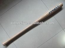 Nature color ash wood baseball bat