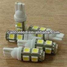 t10 bulb socket 194 168 W5W wedge 9 SMD 5050 auto light