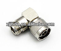 n male to female right angle connector