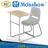 Single desk and chair for student school furniture