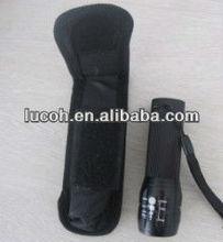 2012 new cree Q5 water resistant super bright LED flashlight