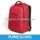 "Red 15.6"" Waterproof Foam Nylon Jacquard Notebook Backpack, Computer Laptop Bag Industry Standard Lead Promoter"