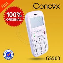 GS503 GPS senior phone, 9 languages, original manufacturer, best price