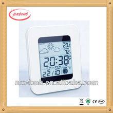 YD8208E weather forecast desk calendar clock with led backlight