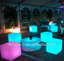 Puma design 40cm fancy plastic cube chair