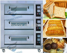 New Arrival Home Baking Use Electric and Gas 3 layer Deck Oven