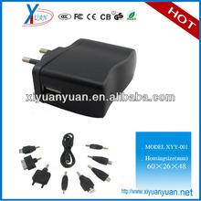 Simple design 5v 1000ma micro usb charger