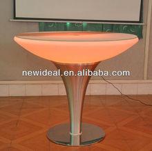 Hot sale full RGB color LED round table ( NJ1537 )