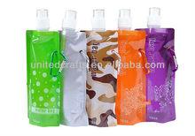 Anti-Bottle Foldable Sport&Outdoor Water Drinking Plastic Bag