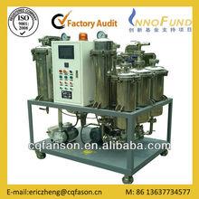 Fason DTS de cocina usado máquina de reciclaje de aceite / cocina equipo de regeneración / usado purificación de aceite de cocina de la máquina